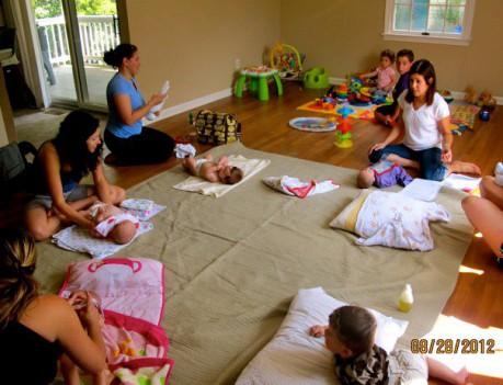 Infant Massage taught by certified infant massage instructor, Ricki ...